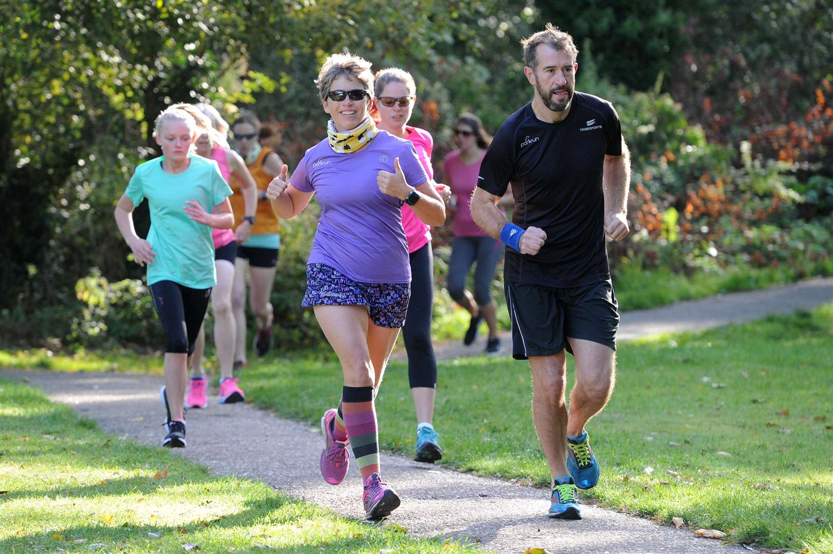 Clare Parkrun marks its first anniversary....PICTURE: Mecha Morton... .. (4488691)
