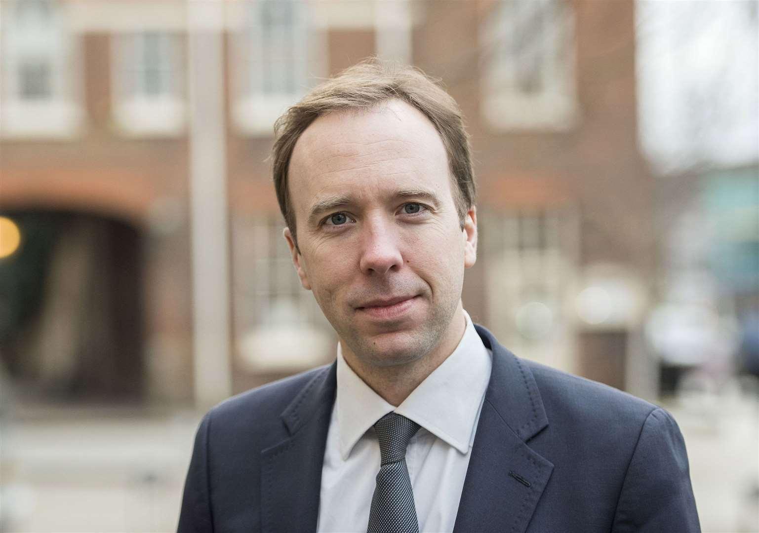 Haverhill's MP Matt Hancock thanks NHS and says service ...