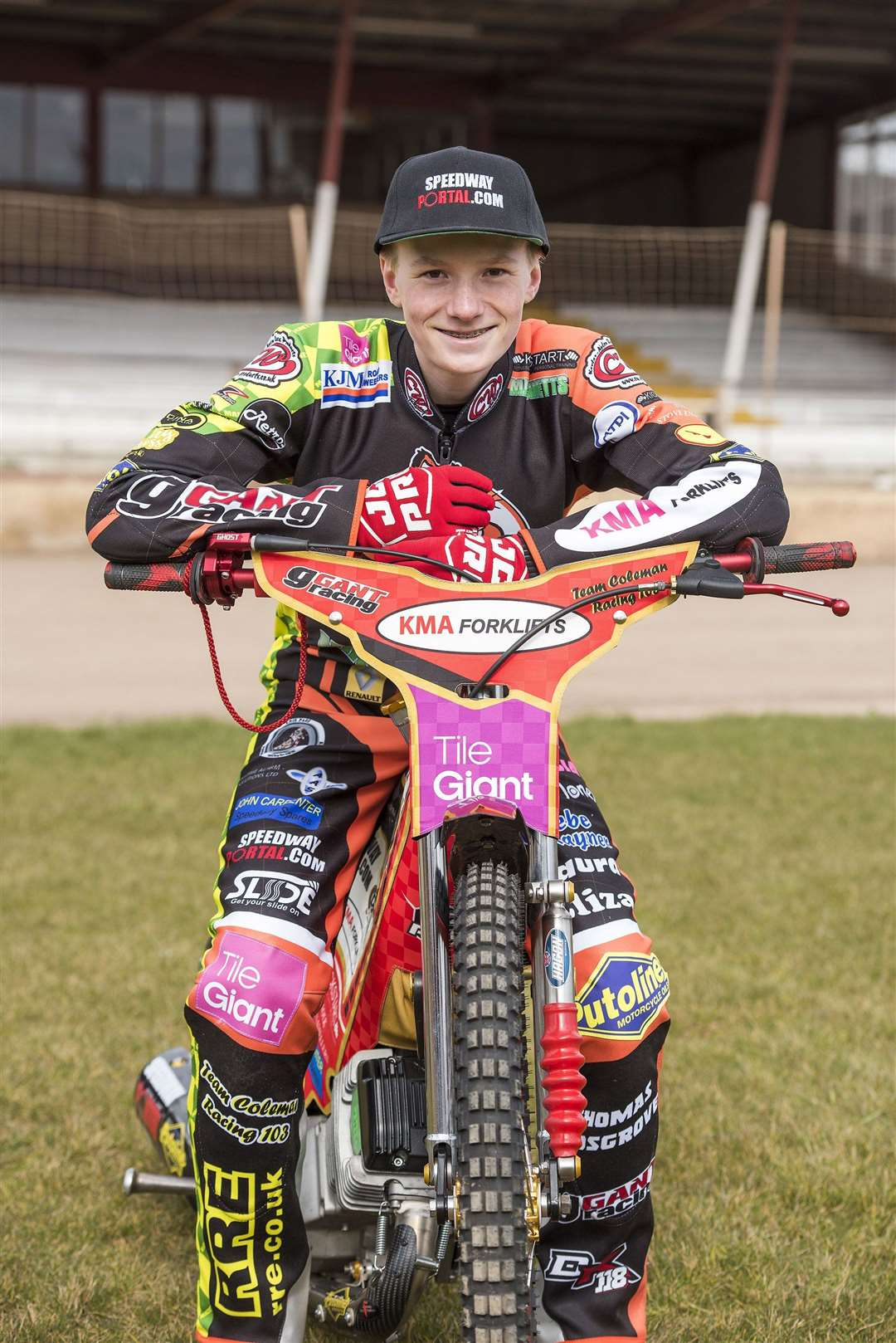 Drew Kemp, pictured in his Mildenhall days, ahead of the 2018 season