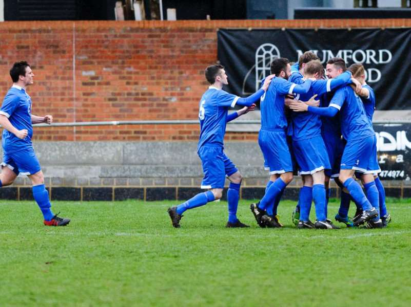 Haverhill Borough will be hoping to be the ones celebrating in their semi-final