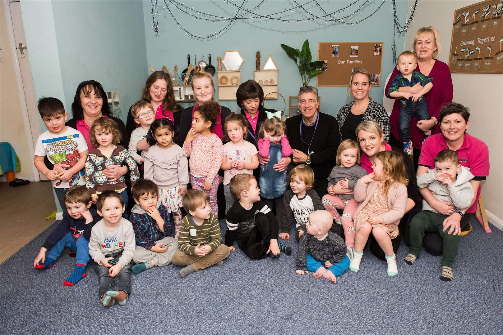 Woodpecker's Private Nursery, Melford Road, Sudbury .Woodpecker's Private Nursery has celebrated its 18th anniversary. Picture by Mark Westley. (6983641)