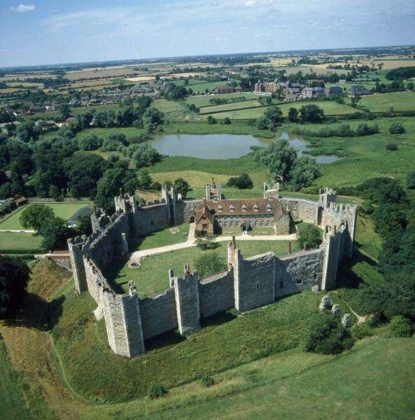 Framlingham Castle. Photo: English Heritage. ANL-170601-155039001