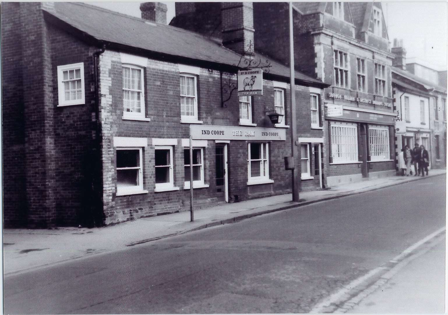 The Ram pub in Haverhill. Picture: Haverhill and District Local History Group