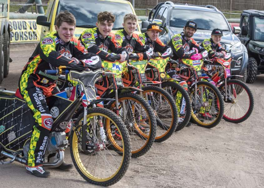 READY TO ROLL: The new-look Fen Tigers will be in action at the Fen Fours on Easter Monday