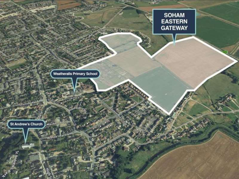 The consultation is part of the re-submission of the Soham Eastern Gateway