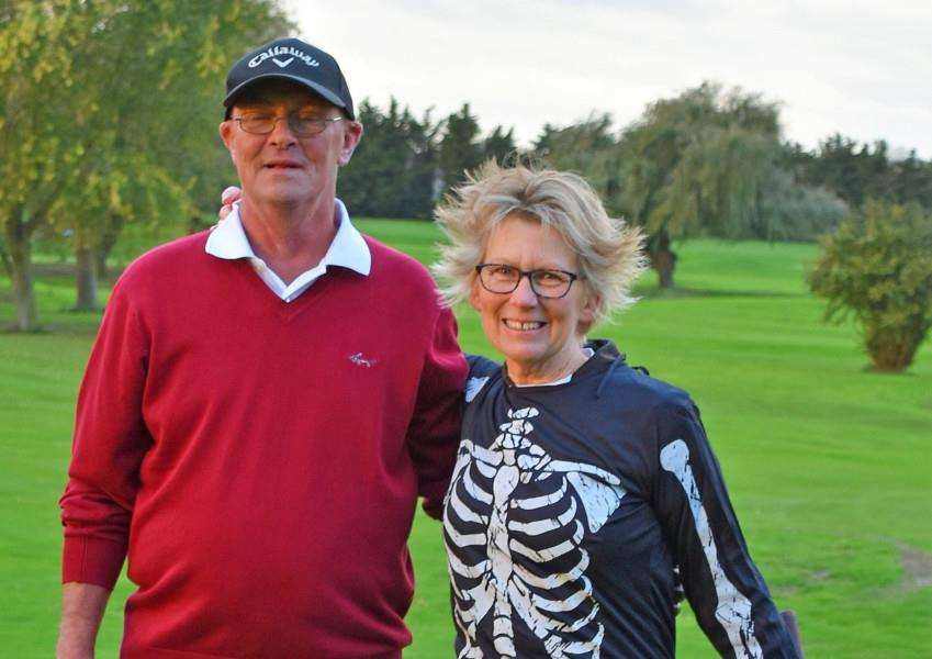 SKIPPERS: Suffolk GC's two captains
