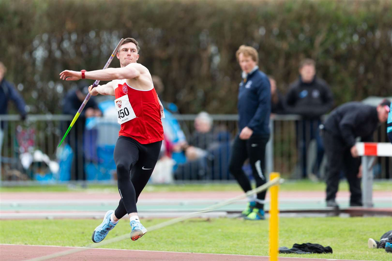 Harry Hughes set a new record at the BUCS Outdoor Championships over the Bank Holiday Weekend Pictures: BUCS