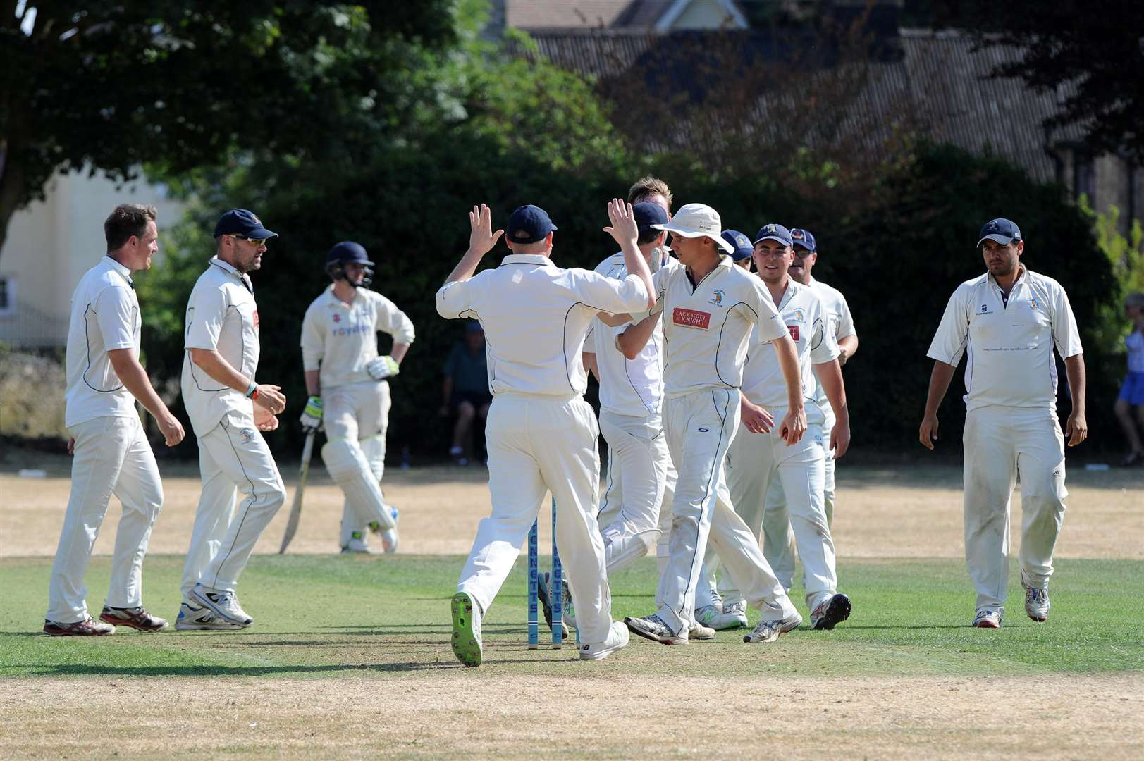 WINNERS: Worlington beat their opponents Foxton by 35 runs on the scorching day (Picture: Mecha Morton)