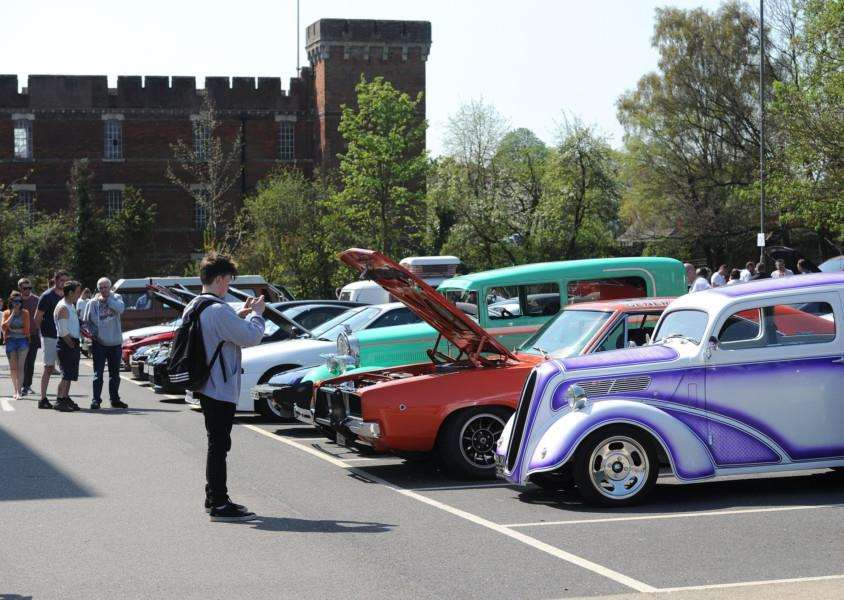 West and Loud car show at West Suffolk College'''PICTURE: Mecha Morton