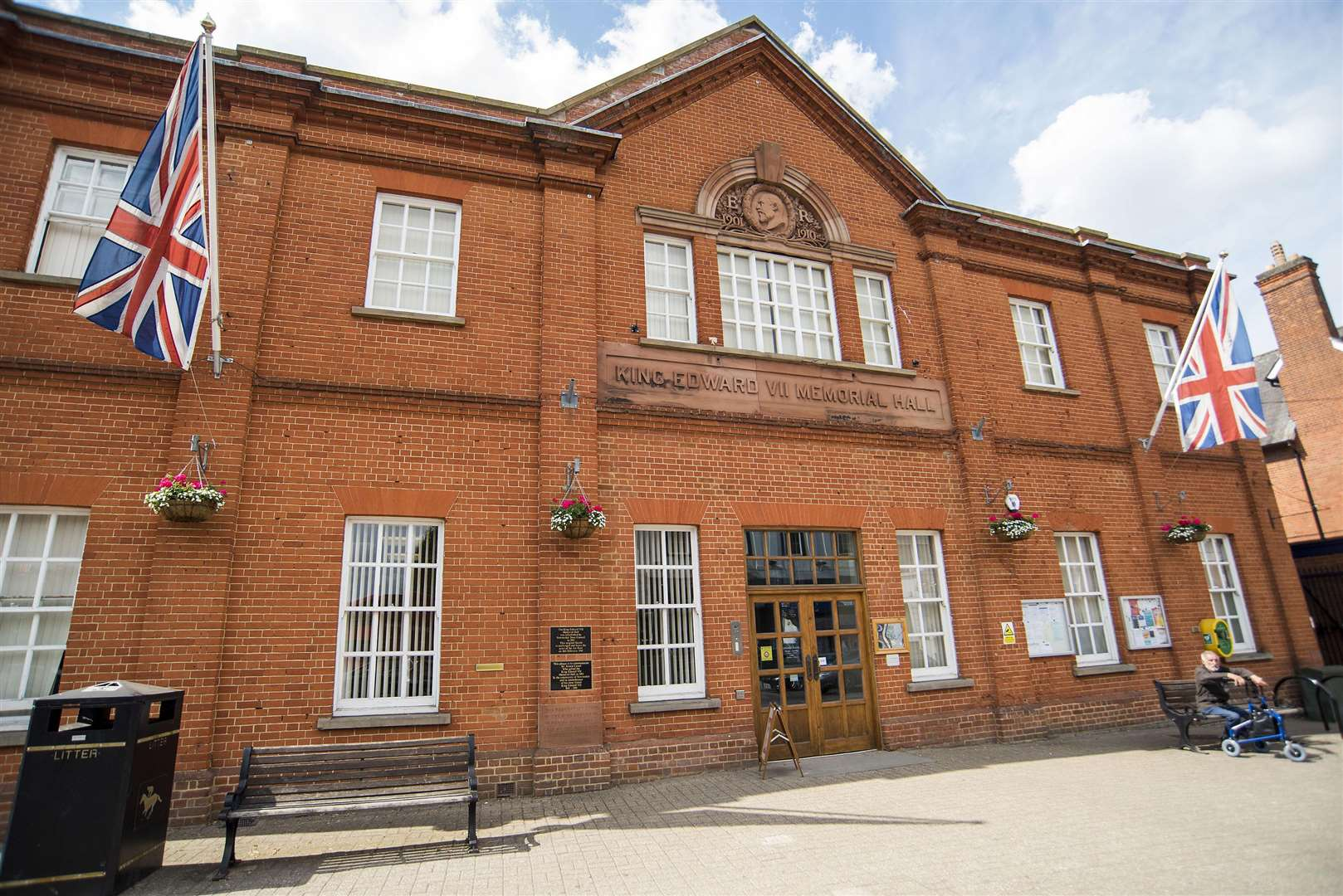 Newmarket's memorial hall, where councillors voted 12-3 to continue their objection