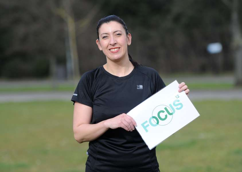 Suzanne Owen is running a half marathon at Silverstone race course in aid of Focus12