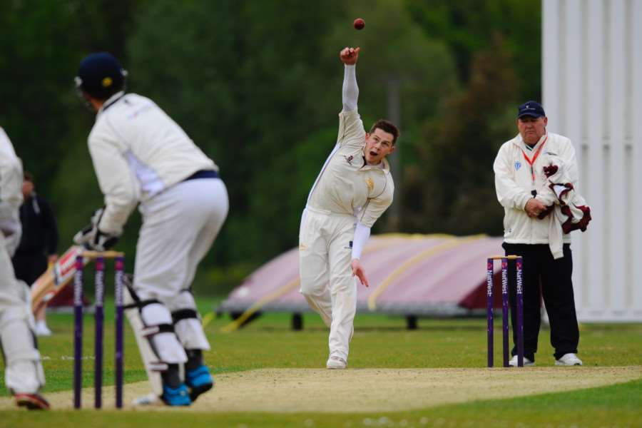 GOOD DAY: Alex Hogg was Garboldisham's top batsman and bowler
