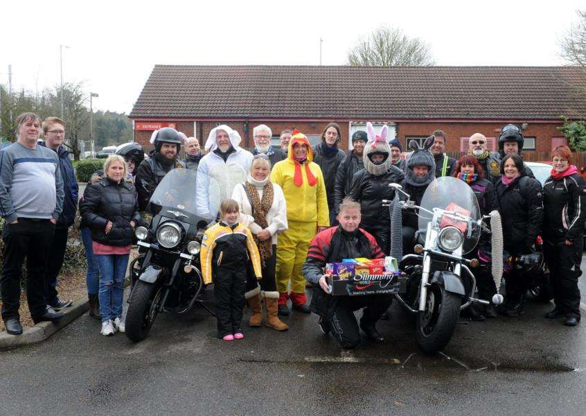 15th Annual Easter Egg run to Childrens Rainbow Ward at West Suffolk Hospital.'''PICTURE: Mecha Morton