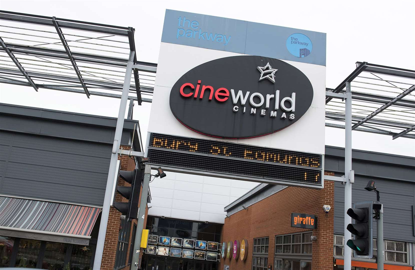 Cineworld Parkway Bury St Edmunds.Picture Mark Westley. (31812780)