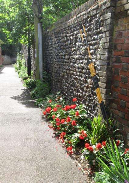 The planting to brighten up Bullocks Lane in Sudbury has been highlighted in the 'Love Sudbury' campaign. ANL-170301-110043001