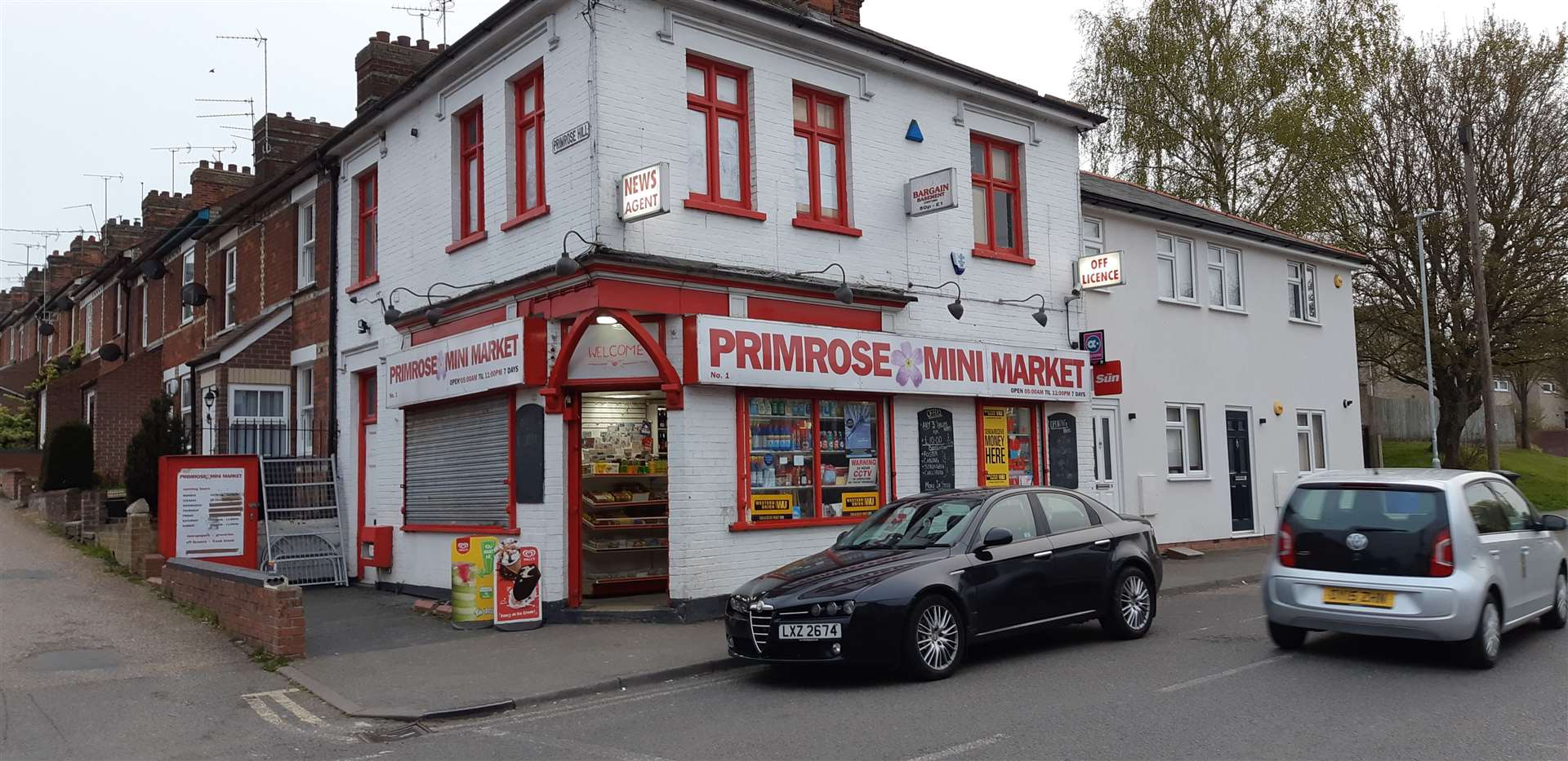 Primrose Mini Market, on the corner of Primrose Hill and Burton End. Picture by Steve Barton (8735455)