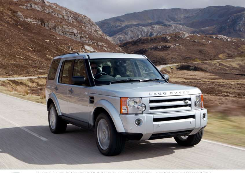 A silver 2008 Land Rover Discovery was stolen in the West Row burglary'Picture: Land Rover