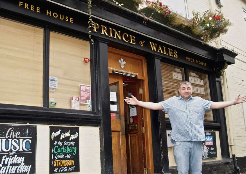 Landlord Duncan Tuhey has spent �60,000 as part of ambitious plans to turn the pub into one of the region's top live music venues. ANL-151019-120503001