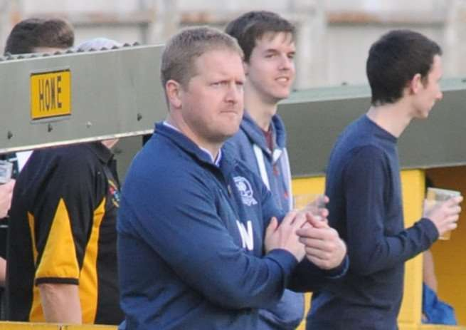 EXCITING TIMES: Borough manager Martin Westcott acknowledges the challenge of Thurlow Nunn League changes but is still 'excited' by promotion