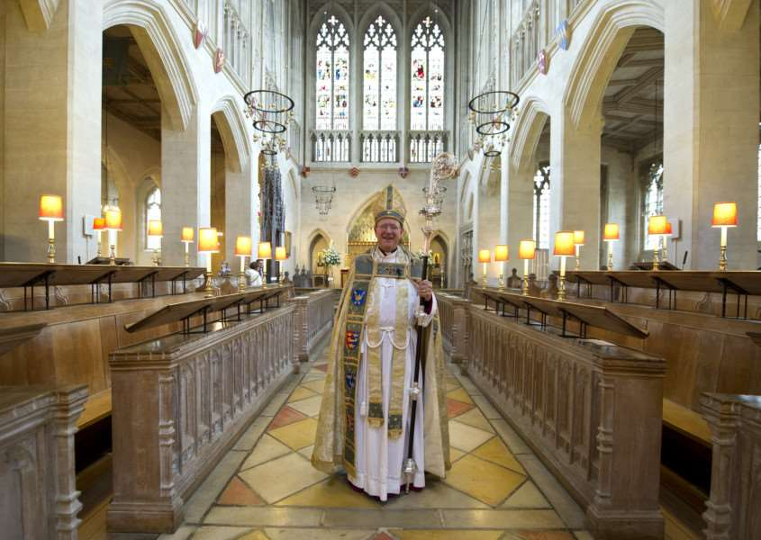 Enthronement of the Bishop os St Edmundsbury and Ipswich (Right Reverend Martin Seeley)