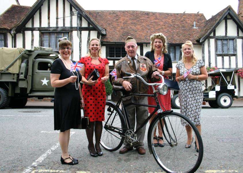 The Lavenham Carnival, which this year has a 1940s theme, takes place on Bank Holiday Monday. ANL-150825-100311001