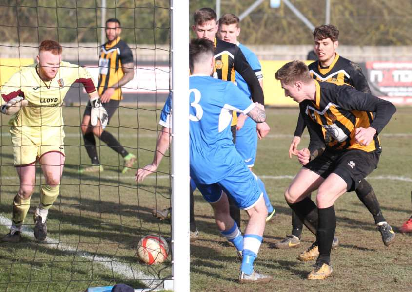 ON TARGET: David Kempson scored against Ipswich Wanderers