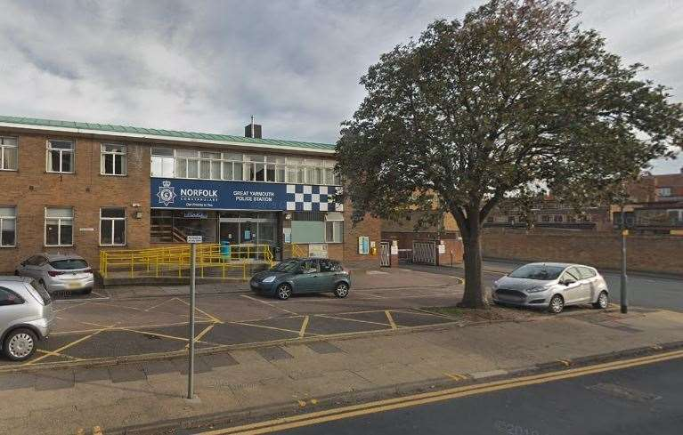 Great Yarmouth Police Station (Google)