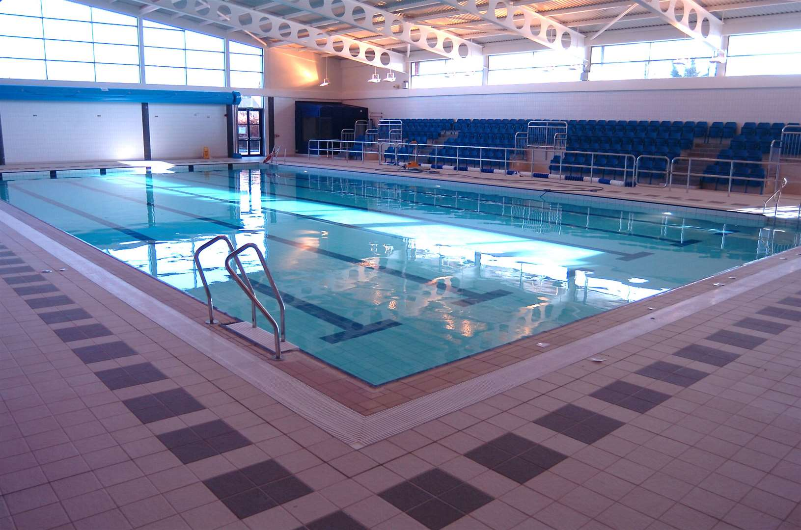 The leisure centre was open just over 10 years ago