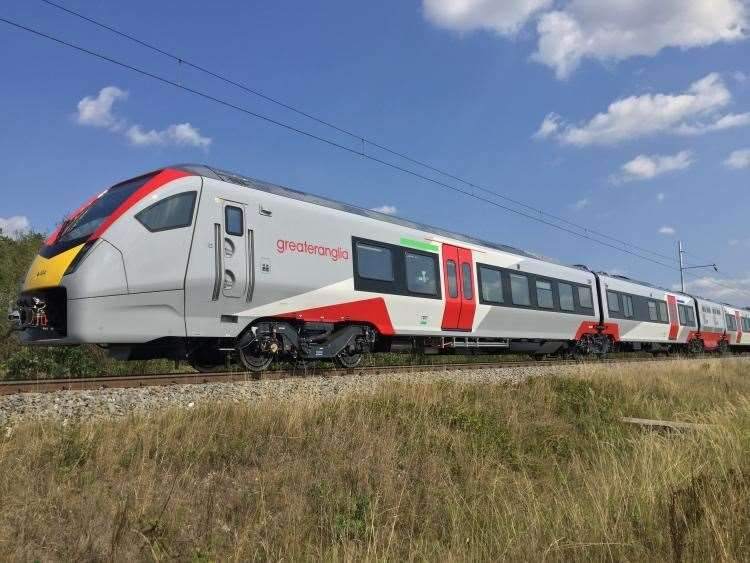Greater Anglia train (9488331)