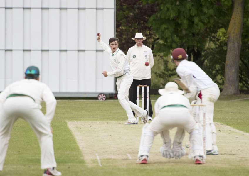 WICKET TAKER: Josh Arksey took three of the four wickets Burwell claimed against Swardeston