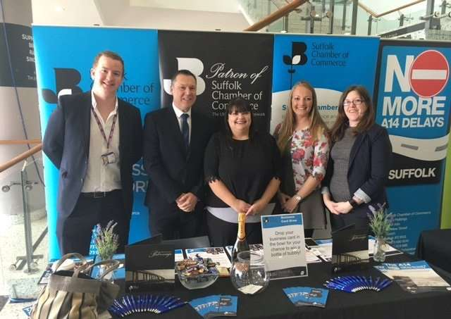 Suffolk Chamber of Commerce at previous Two Counties Exhibition in Newmarket