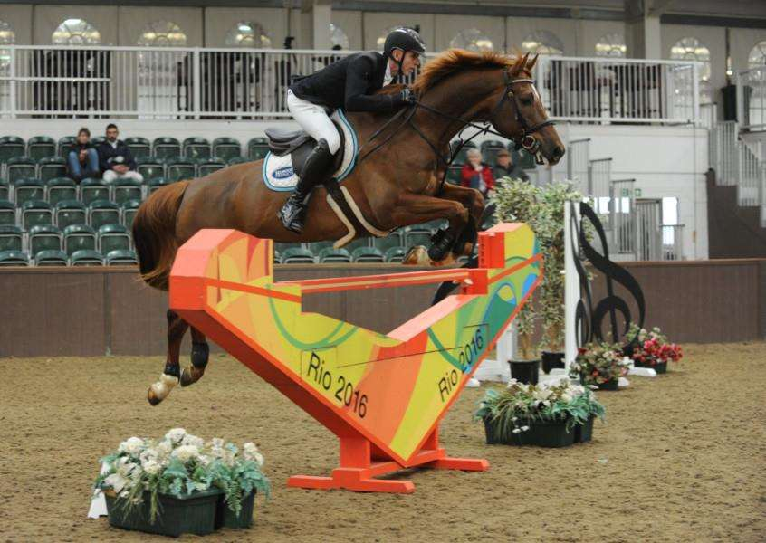 TOP FENCES: Previous Olympic fences were in use for the championships