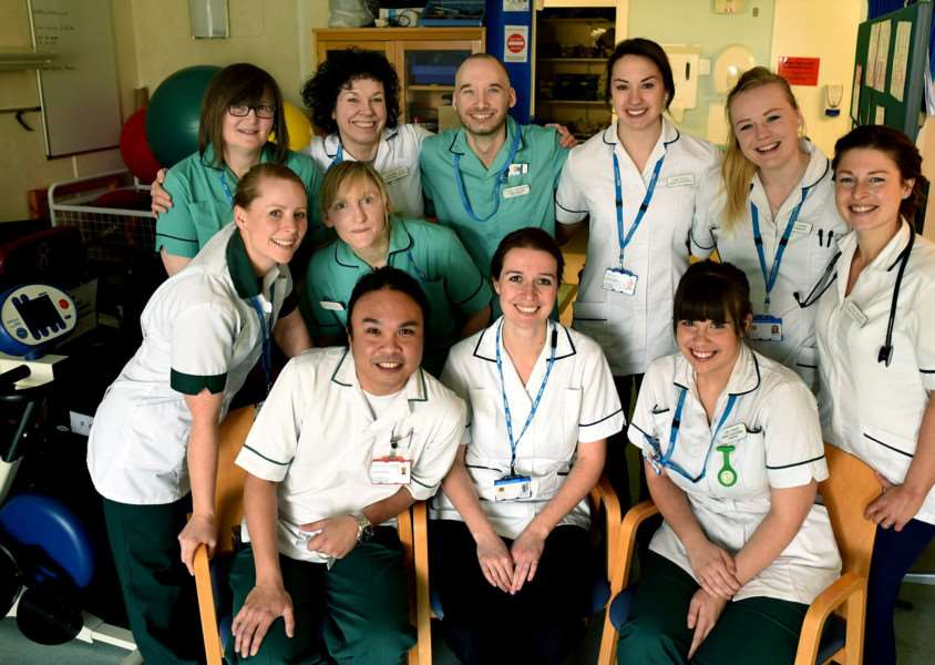 The ambulatory care team ANL-160321-134701001