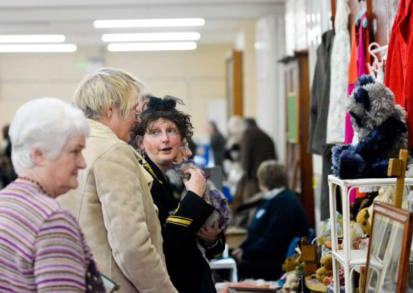 Antiques and Vintage Fair at The Old School Community Centre in Long Melford.