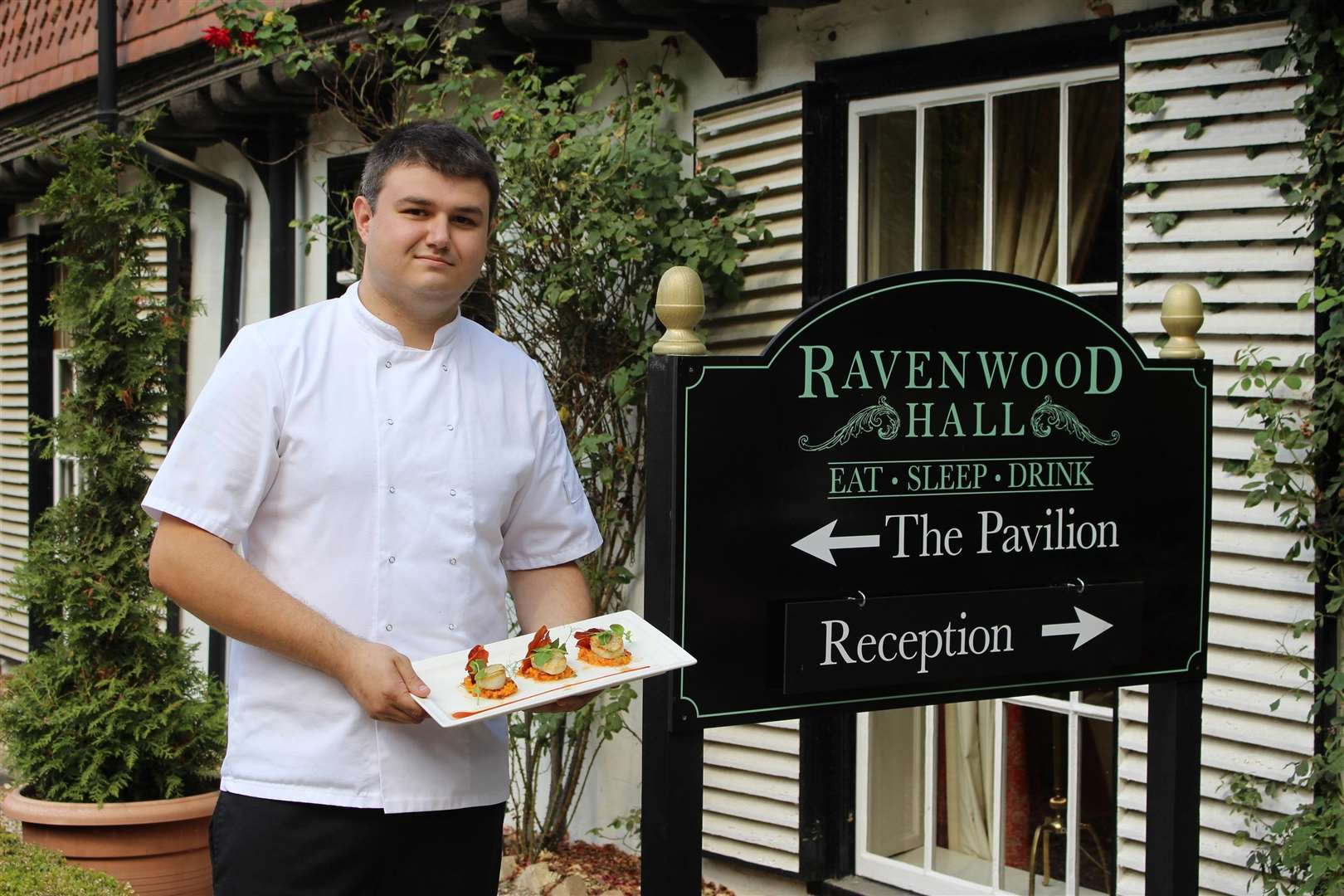 Ross Cook has been appointed as head chef at Ravenwood Hall (3709401)