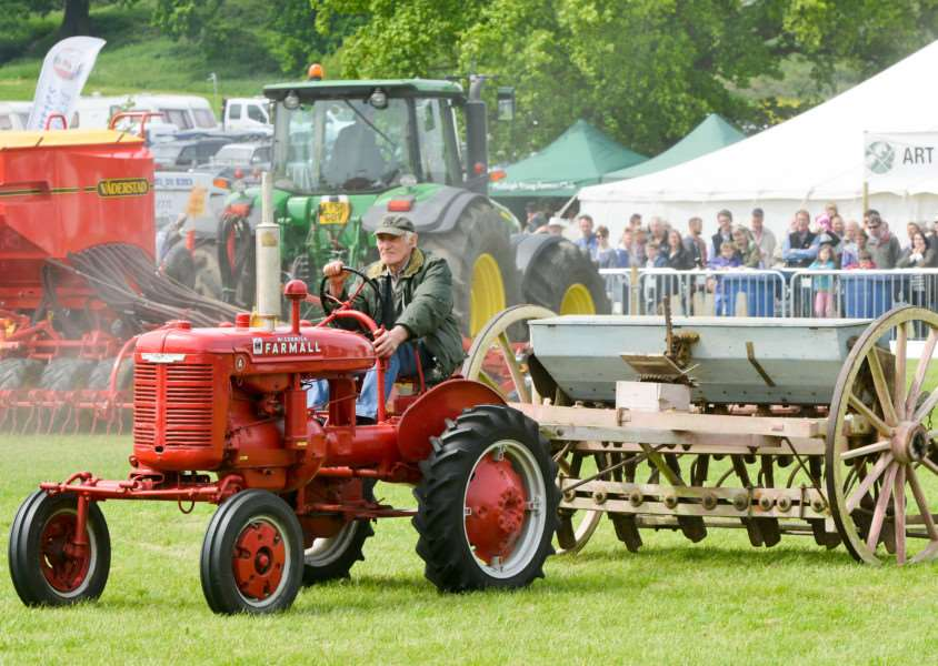 Hadleigh Show 2016 at Holbecks Park. 100 Years of Farming Event ANL-160522-142122009