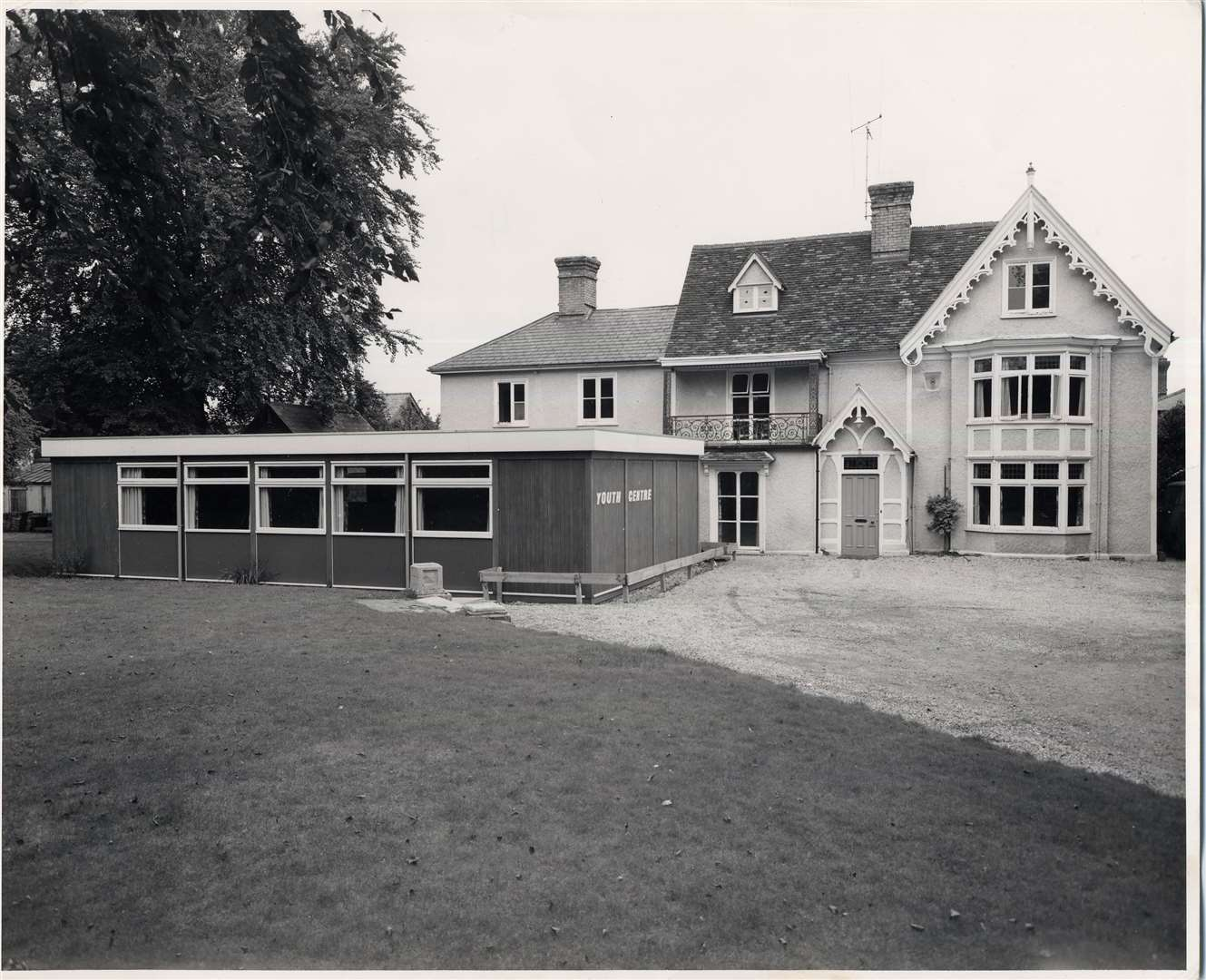 Haverhill Burton Cottage when it was a youth centre 1970s Picture: Haverhill and District Local History Group