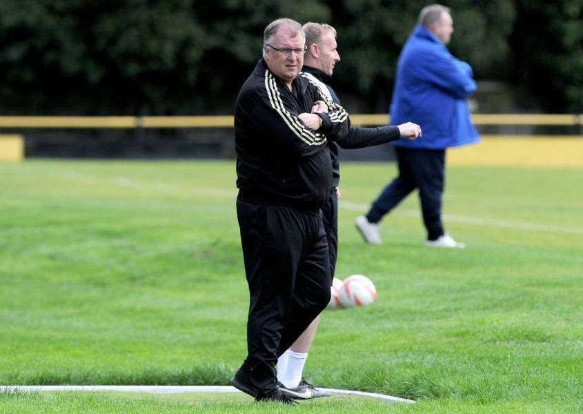 LANDMARK WIN: Rick Andrews oversaw his 100th victory as Stowmarket boss on Tuesday