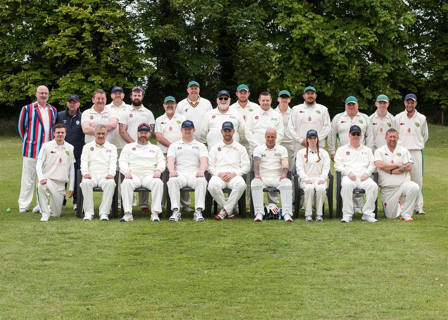 Long Melford Cricket Club is hosting the Help for Heroes cricket teams, which are comprised of former military personnel, for two exhibition games, in order to raise money for the charity. Picture by Mark Westley. (9755297)