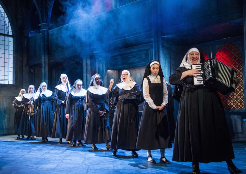A scene from Sister Act: Picture: '?Tristram Kenton ANL-161130-142110001