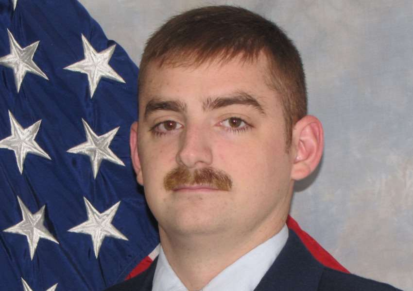 Staff Sgt. Hunter Davis, who diedafter a crash on Eriswell Road ANL-160906-114729001