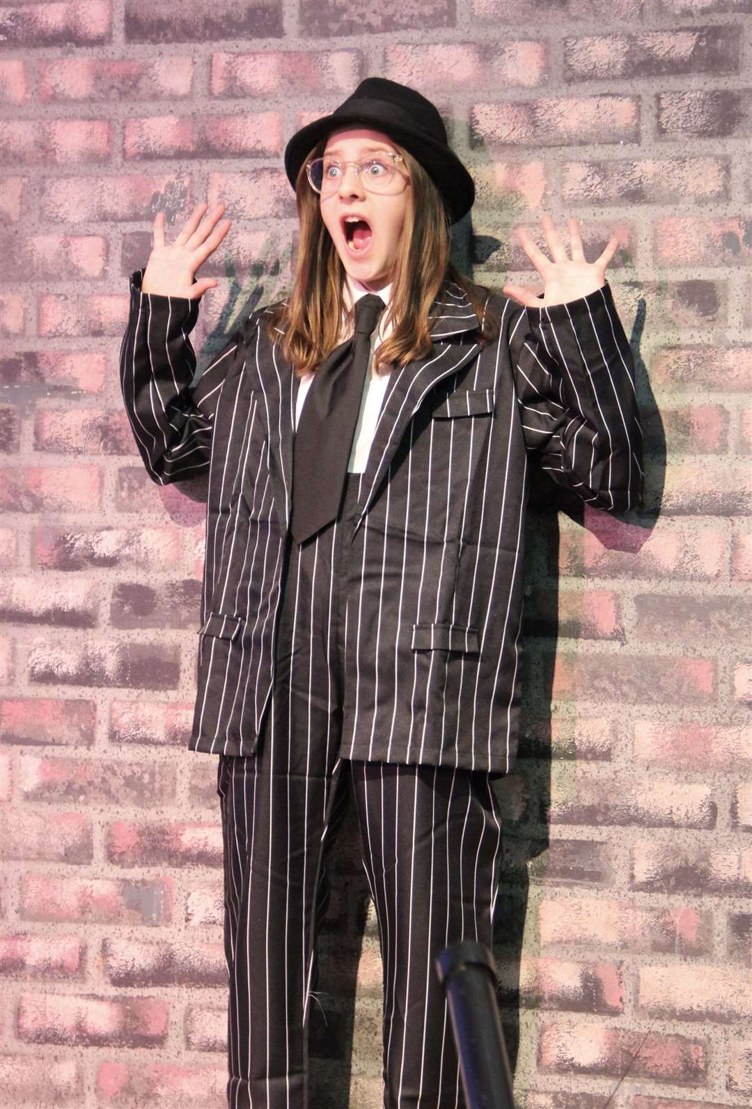 Bugsy Malone production at Thomas Gainsborough School. (31247673)