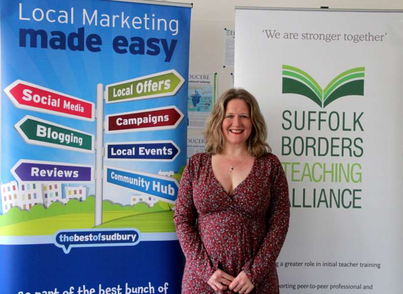 Penny Wilby from the bestofSudbury business website is hosting the inaugural Sudbury Expo for businesses at Thomas Gainsborough School in April 2016. ANL-161104-114305001