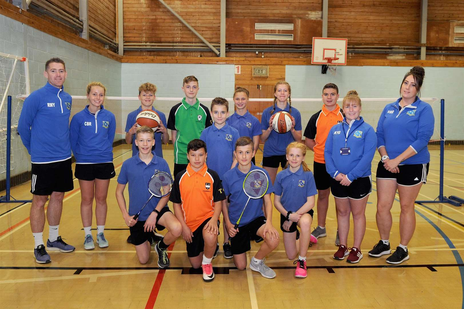 Thomas Gainsborough School in Great Cornard is one of 40 schools nationwide taking part in a new Sport England-led pilot scheme, which is providing funding to help increase participation in sports and physical activity.....PICTURE: Mecha Morton... .. (4706236)