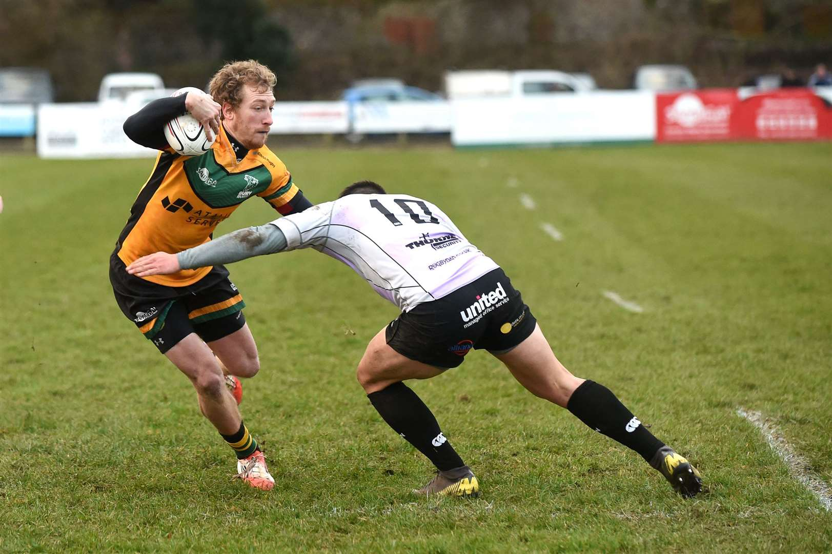RUGBY - Bury St Edmunds v Clifton..Pictured: Sebastiano Dusi...PICTURE: Mecha Morton .... (25914352)