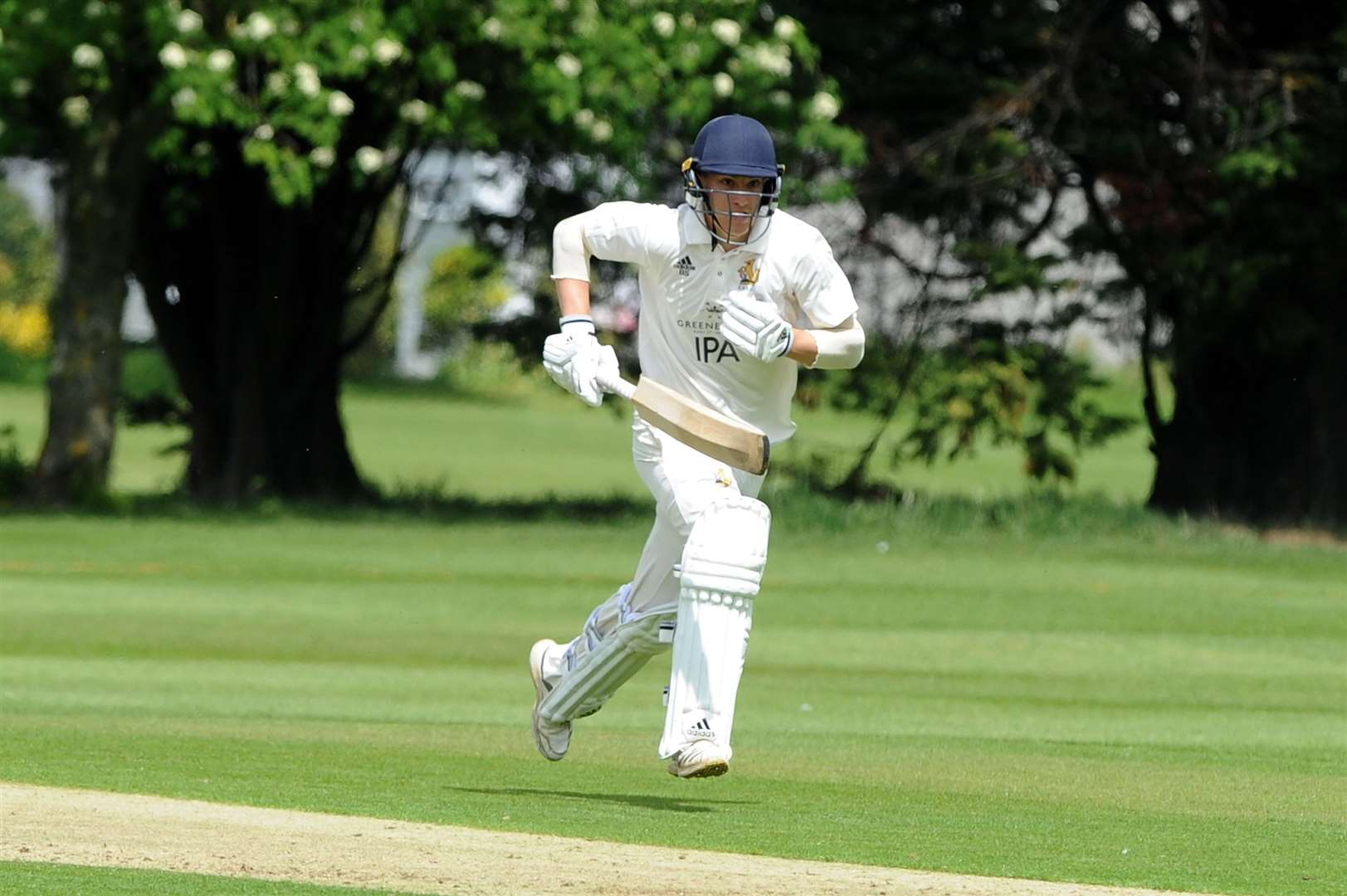 CRICKET - Bury St Edmunds (Batting) and Cambridge (Bowling/Fielding)..Pictured: Ben Seabrook....PICTURE: Mecha Morton... (10897273)