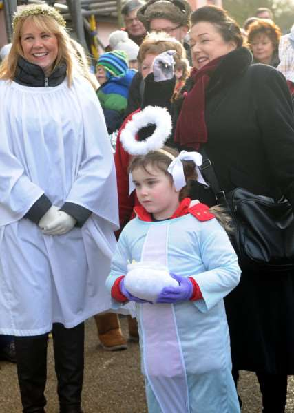 Woolpit Nativity walk and Christingle Service''''PICTURE: Mecha Morton'''''''PICTURE: Mecha Morton
