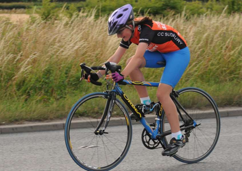 PEDAL POWER: Action from the Cycling Club Sudbury midweek time trial series