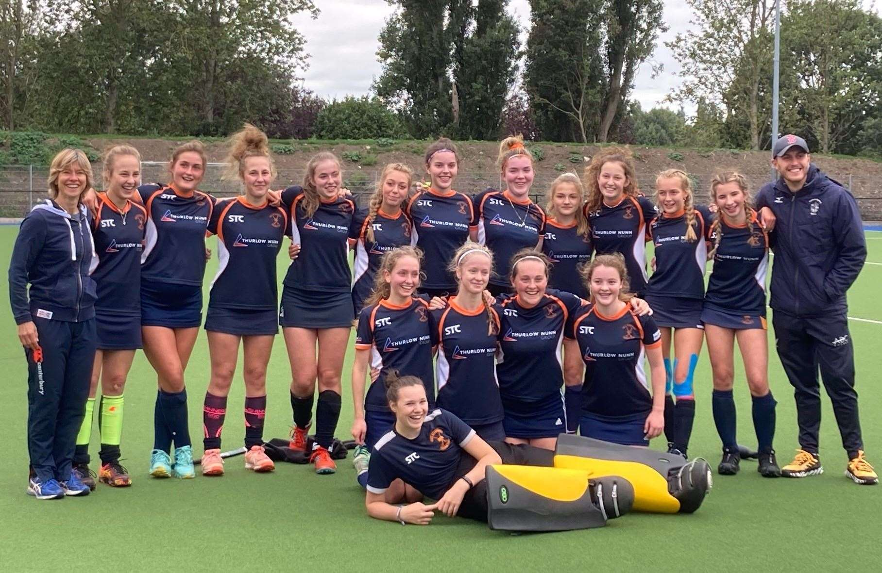 Bury St Edmunds Hockey Club's Under-18 Girls side were runners-up in the the England Hockey T3 Cup(42154954)