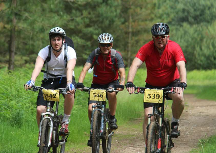 Ride for Life at Thetford Forest in aid of EACH